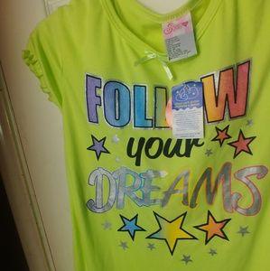 Sweet Sassy Pajamas - SWEET SASSY GREEN FOLLOW YOUR DREAMS NIGHTGOWN 14
